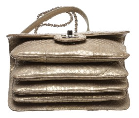 Beige Snakeskin Accordion $2,995